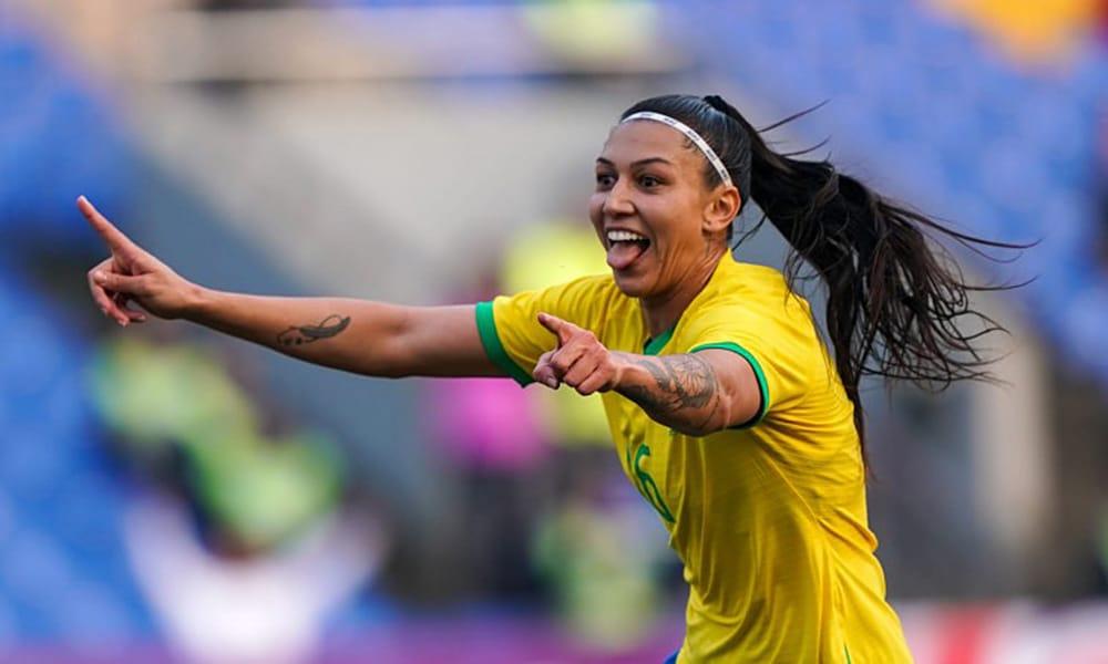 Seleção brasileira de futebol feminino vence o Canadá no Torneio Internacional de Seleções na China