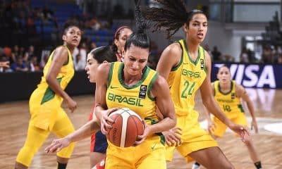 Brasil Pré-Olímpico de basquete feminino