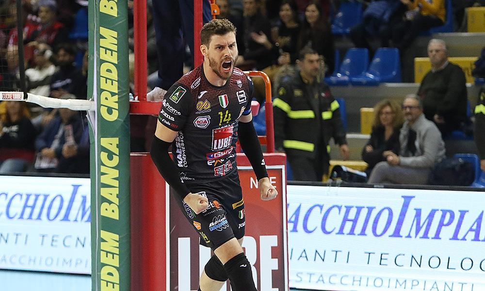 Bruninho, no Civitanova, pelo italiano de vôlei