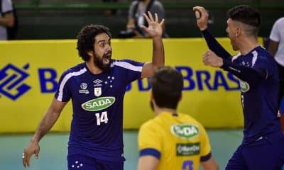 Cruzeiro x Minas - Mineiro de vôlei masculino