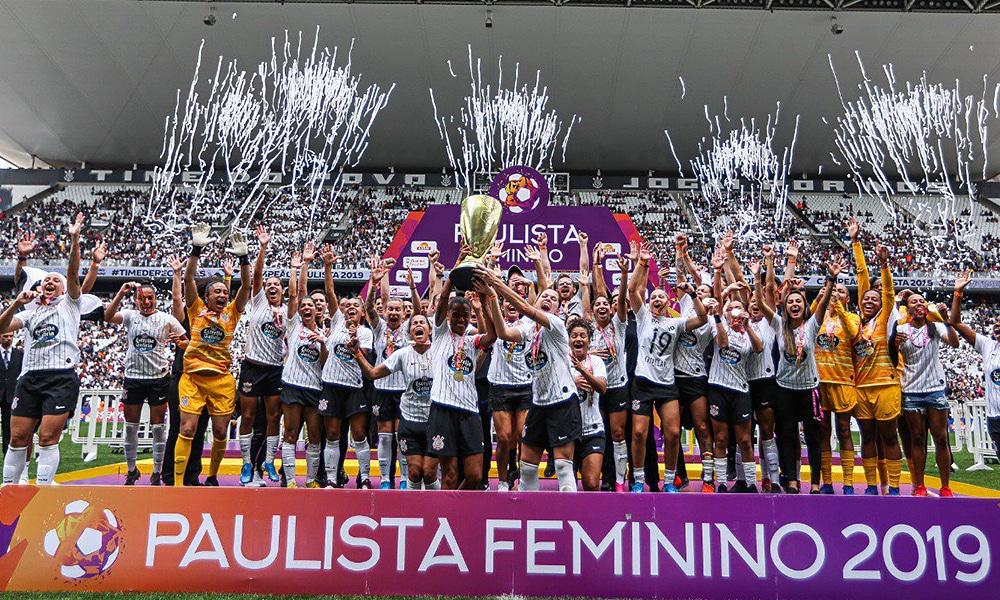 Corinthians vence o São Paulo e é campeão paulista de futebol feminino