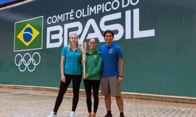 Tocha Olímpica - COB - COI