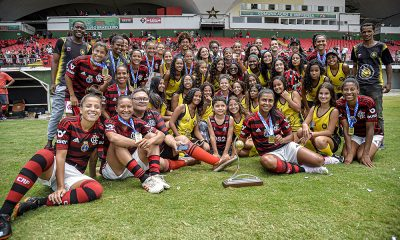 Flamengo bate o Fluminense e é campeão carioca de futebol feminino