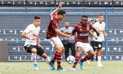 Flamengo vence o Corinthians na primeira semifinal do Brasileiro Sub-20