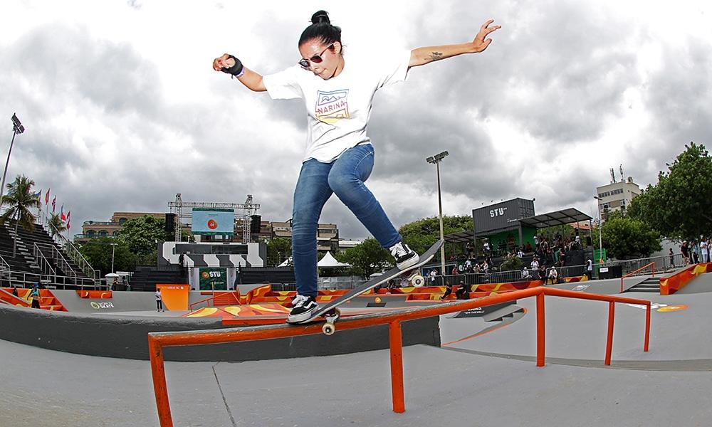 Isabelle Menezes do Skate Street no Stu Open do Rio