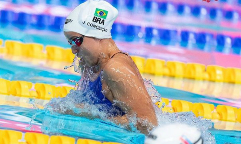 Na Etapa de Doha, Jhennifer Conceição é ouro e Felipe Lima prata