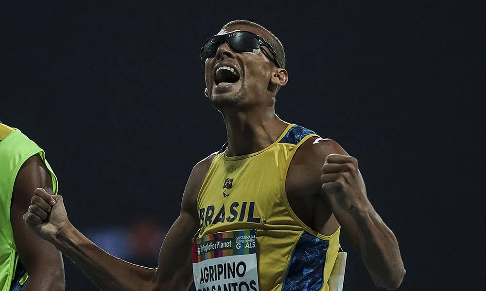 Júlio César Agripino, ouro no Mundial de Atletismo Paralmípico de Dubai