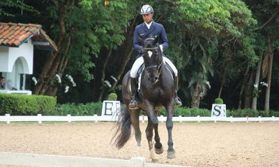 Leandro Silva, campeão brasileiro de adestramento