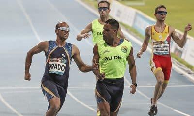 Lucas Prado no Mundial de Atletismo Paralímpico