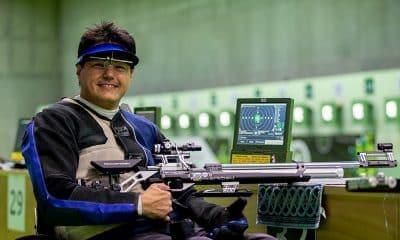 Marcelo Marton, tetracampeão do Brasileiro de Tiro Esportivo paralímpico