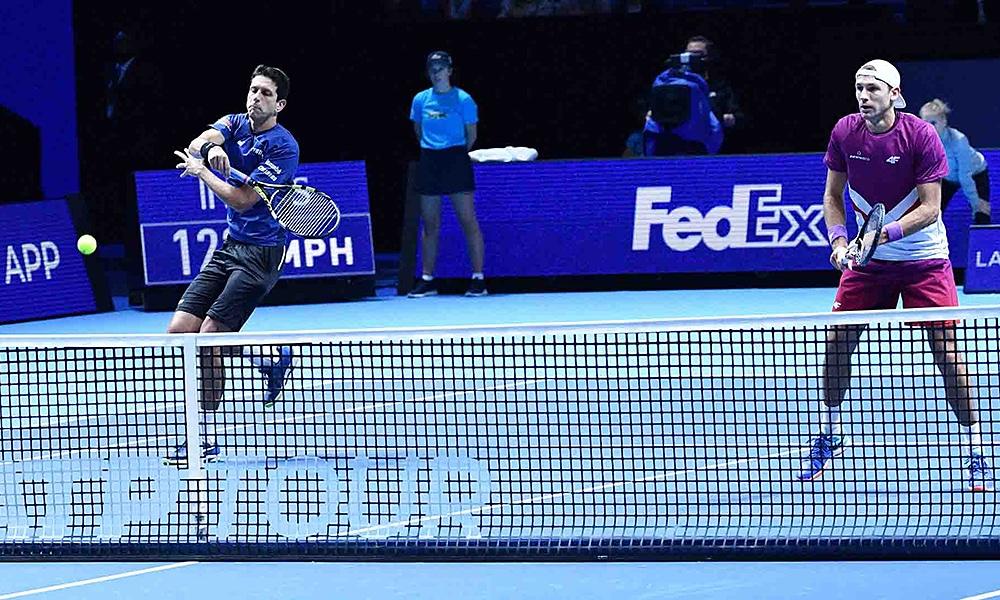 Marcelo Melo e Lukasz Kubot vencem a primeira no ATP Finals em Londres