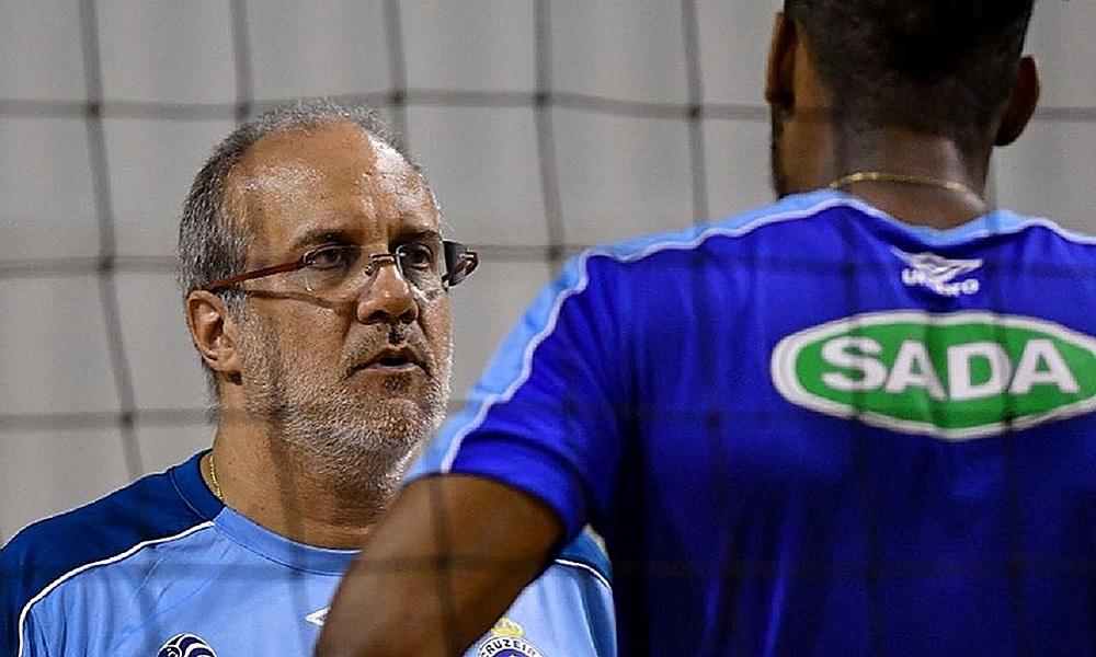 Marcelo Mendez, técnico do Cruzeiro no mundial de clubes de vôlei