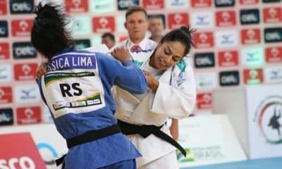 Mariana Silva contra Ryanne Lima no Brasileiro de judô