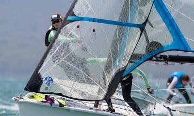 Martine Grael e Kahena Kunze no Campeonato da Oceania de vela