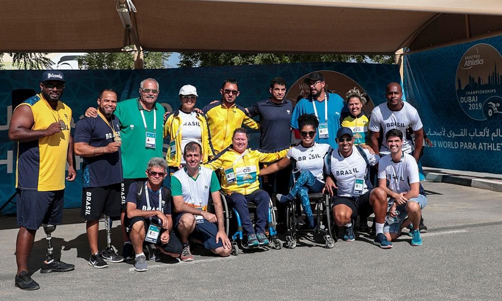 Medalhistas brasileiros de campo no Mundial de Atletismo Paralímpico em Dubai