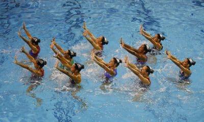 Seletiva nacional de nado artístico