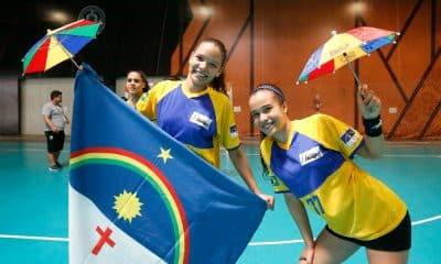 Pernambuco faz a dobradinha no handebol feminino dos Jogos Escolares