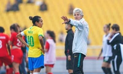Pia Sundhage, técnica da seleção feminina de futebol