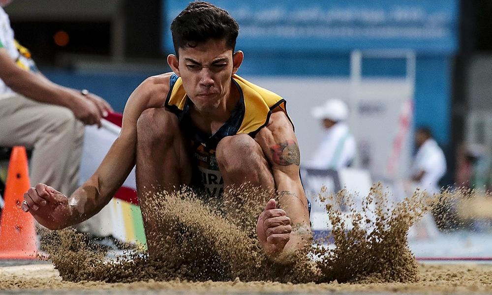 Rodrigo Parreira ganha a prata no Mundial de Atletismo Paralímpico em Dubai