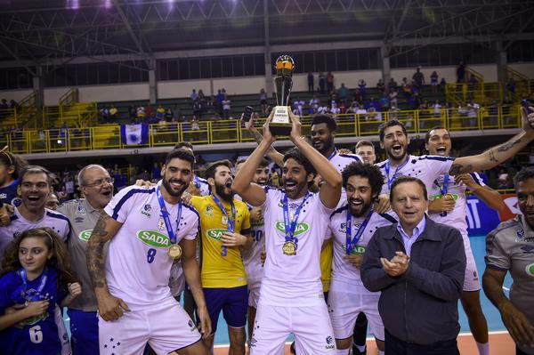 Sada Cruzeiro, campeão mineiro de vôlei masculino 2019