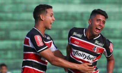 Santa Cruz goleia o CSA-AL pela Copa do Nordeste Sub-20