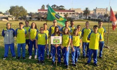 Brasil no Sul-Americano Sub-19 de Pentatlo Moderno