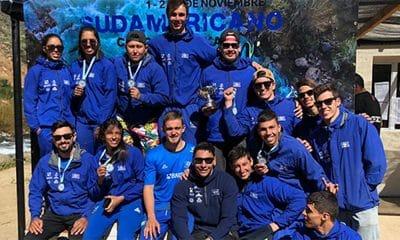 Brasileiros no sul-americano de canoagem slalom