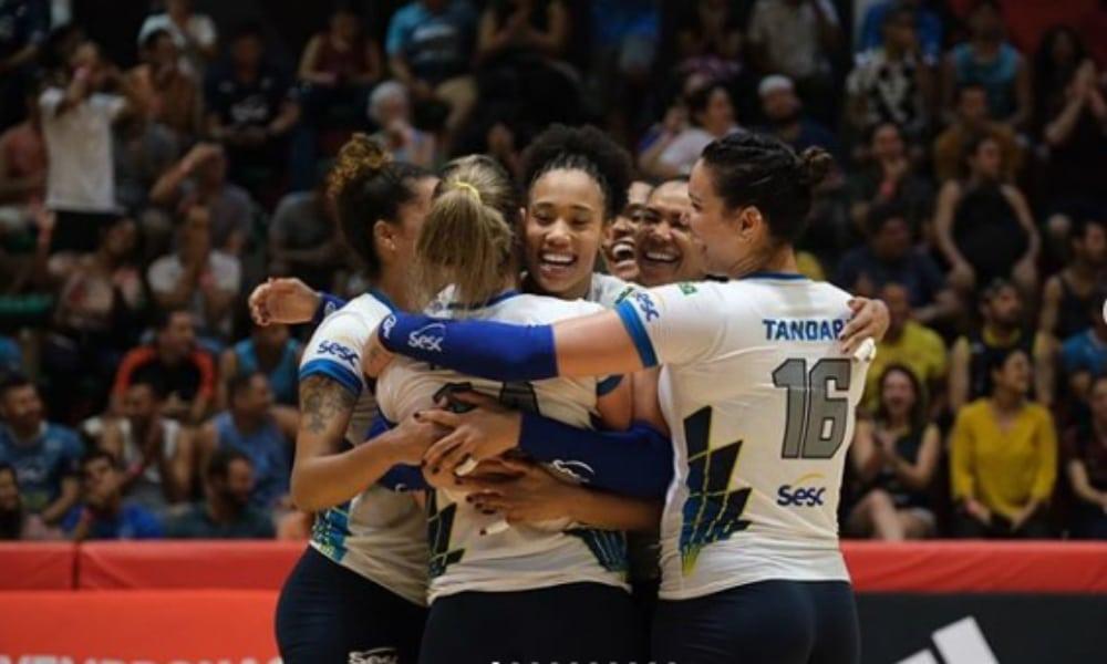 Sesc RJ x São Paulo Barueri - Superliga Feminina