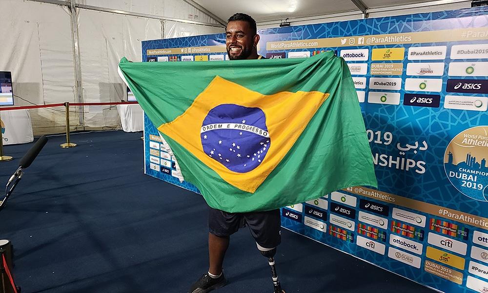 Thiago Paulino, ouro no Mundial de Atletismo Paralmípico de Dubai