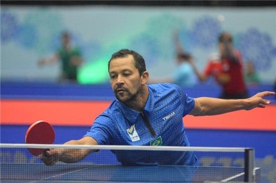 Thiago Monteiro, do tênis de mesa