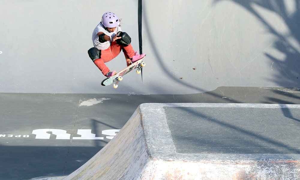 Victória Bassi do Skate Park no Stu Open do Rio
