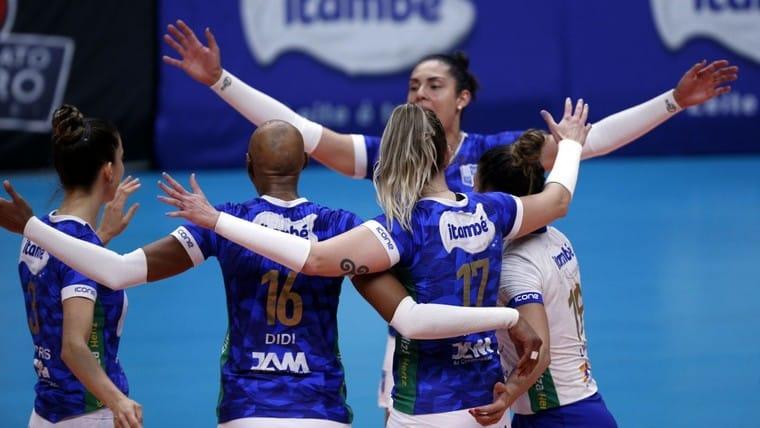 Minas x Pinheiros - Superliga Feminina