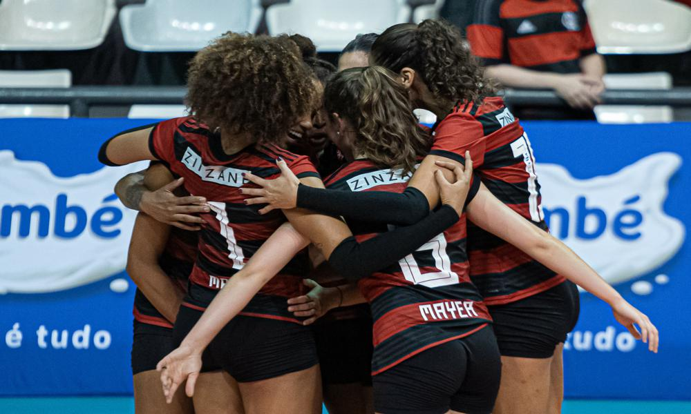 Flamengo enfrenta São Paulo Barueri - Superliga Feminina