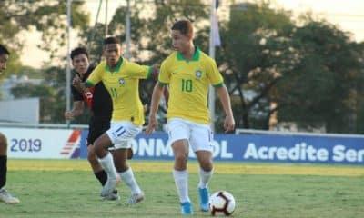Brasil x Paraguai - Sul-Americano sub-15