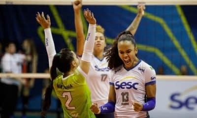 Sesc RJ x Pinheiros - Superliga Feminina