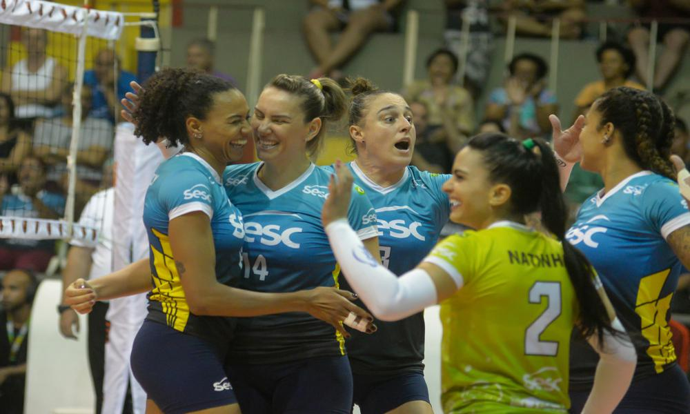 Minas x Sesc RJ - Superliga Feminina