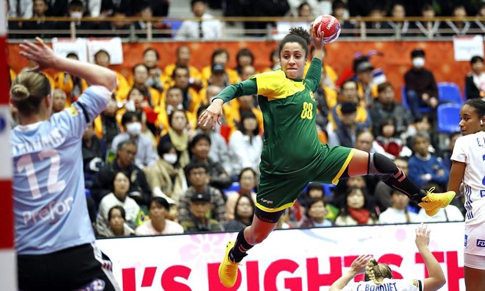 Seleção brasileira contra a França pelo Mundial de Handebol Feminino handebol nos jogos olímpicos tóquio 2020
