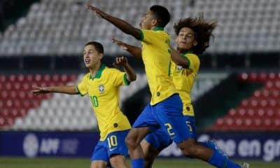 Brasil campeão Sub-15 Foto Rudy Lezcar