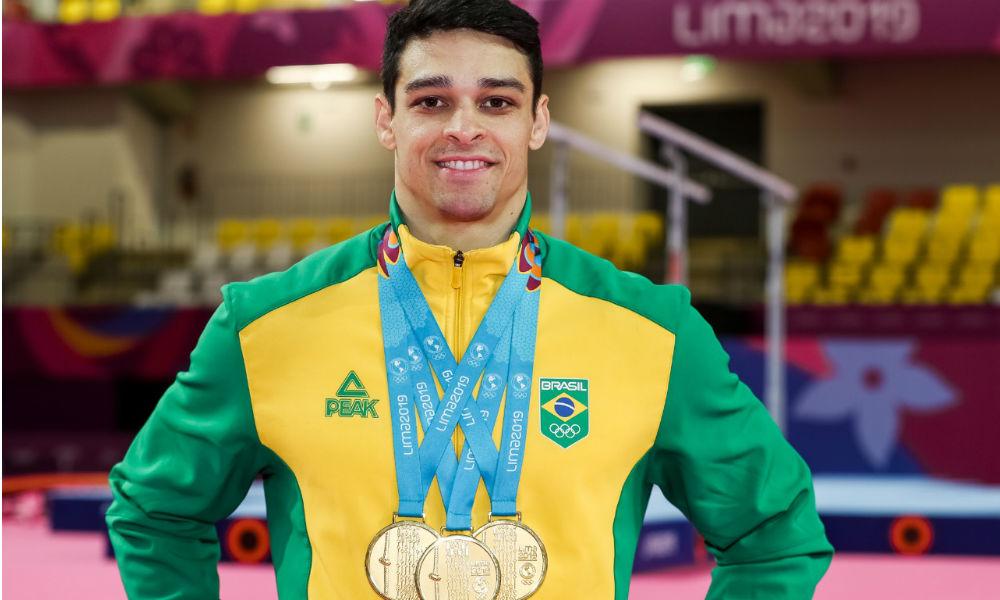 Chico Barreto - ginástica artística - Jogos Olímpicos de Tóquio 2020 - barra fixa - cavalo com alças - individual geral - cavalo com alças - barra fixa