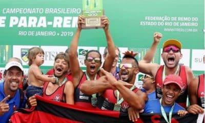 Flamengo campeão de Para-Remo - Foto: Divulgação/ Flamengo