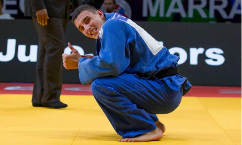 Guilherme Schimidt medalha de bronze Mundial Júnior judô Grand Prix de Zagreb de judô medalha de prata