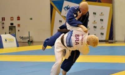 Judo Paralímpico - Divulgação/ CBDV