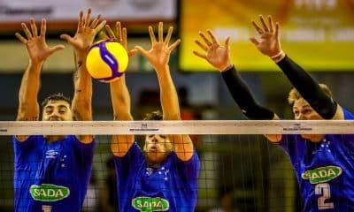 Sada Cruzeiro x Al-Rayyan - Mundial de Clubes - Foto Divugação/FIVB