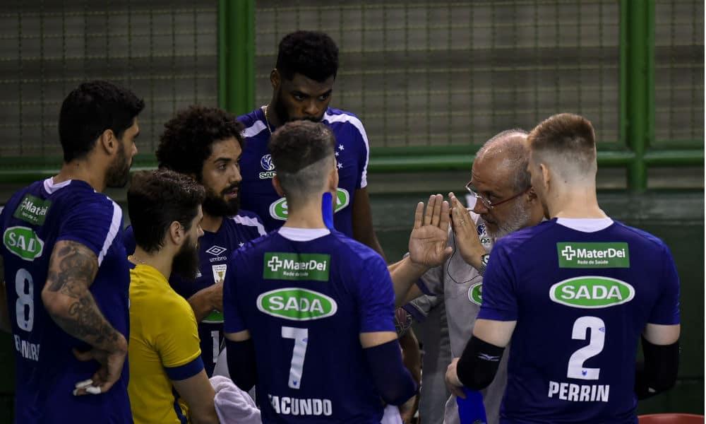 Sada Cruzeiro enfrenta Itapetininga pela Superliga