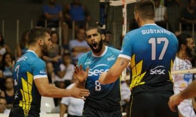 Sesc vence Taubaté na Superliga - Foto: Divulgação/ Sesc