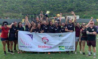 Band Saracens - campeão brasileiro de rugby sevens