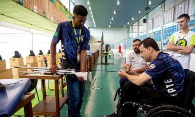 Alexandre Galgani, no Brasileiro de Tiro Esportivo paralímpico