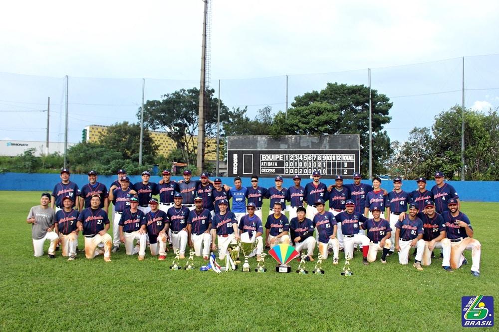 Atibaia campeão da Taça Brasil de beisebol