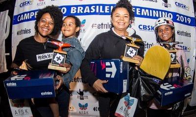 Brasileiro de skate feminino pódio street master