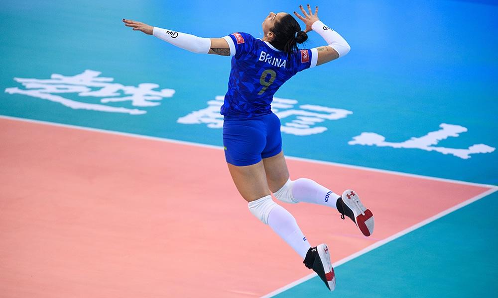 Bruna no Minas e Guangdong pelo Mundial de Clubes de vôlei feminino